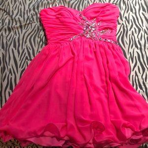 Deb Pink Dress